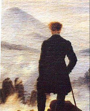 Caspar Friedrich, el viajero en la niebla