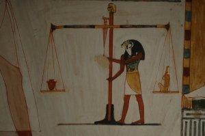 Egipto. Tumba de Menna.
