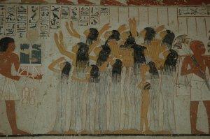 Egipto. Tumba de Ramose 2