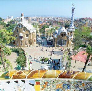Gaudí. Park Güell.