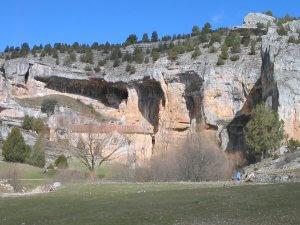 Lugares Sagrados. El cañón del Rñio Lobos.